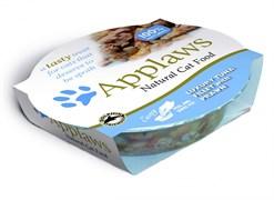 Консервы APPLAWS для взрослых кошек Нежное филе тунца с креветками Cat Luxury Tuna Fillet with Prawn