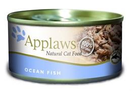 Консервы APPLAWS для взрослых кошек с океанической рыбой Cat Ocean Fish