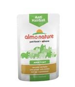 Пауч ALMO NATURE Functional – Anti-Hairball with Chicken для вывода шерсти у кошек с курицей