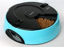 Автокормушка для любого типа корма Feedex PF6 на 6 кормлений для кошек и собак