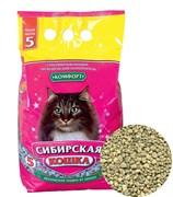 Впитывающий наполнитель Сибирская кошка Комфорт