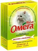 ОМЕГА NEO лакомство для кошек с биотином и таурином 90 таб.