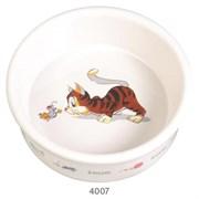 Миска керамическая Trixie Кошка-мышка
