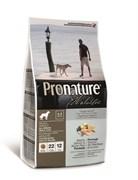 Сухой корм PRONATURE HOLISTIC Adult Salmon and Brown Rice для взрослых собак всех пород атлантический лосось с коричневым рисом