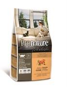 Беззерновой сухой корм PRONATURE HOLISTIC Adult Cat Duck and Orange для взрослых кошек с уткой и апельсинами