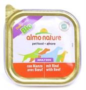 Паштет ALMO NATURE Bio Pate Beef для собак с говядиной