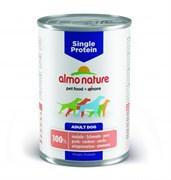 Консервы ALMO NATURE Single protein Pork для собак с чувствительным пищеварением со свининой