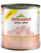 Консервы ALMO NATURE Classic Adult Salmon and Pumkin для взрослых кошек с лососем и тыквой