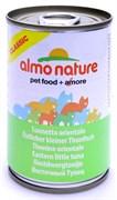 Консервы ALMO NATURE Classic Adult Eastern little Тuna для взрослых кошек с пятнистым индо-тихоокеанский тунцом