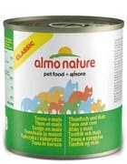Консервы ALMO NATURE Classic Adult Tuna and Corn для взрослых кошек с тунцом и кукурузой
