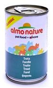 Консервы ALMO NATURE Classic Adult Trout для взрослых кошек с форелью