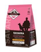 Сухой корм Savarra Adult All Breed Lamb/Rice для собак всех пород с ягненком и рисом