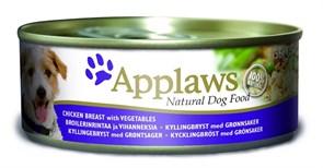 Консервы APPLAWS для собак с курицей и овощами Dog Chicken/Veg