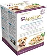 """Пауч APPLAWS Dog Jelly Pouch Finest Selection в желе для собак """"Великолепие вкусов"""" набор 5 шт"""