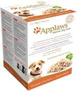 """Набор паучей APPLAWS Dog Jelly Pouch Supreme Selection в желе для собак """"Коллекция вкусов"""" набор 5 шт"""
