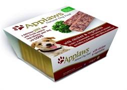 Консервы APPLAWS Dog Pate Chicken/Veg паштет для собак с курицей и овощами