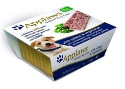 Консервы APPLAWS паштет для собак с лососем и овощами Dog Pate Salmon/Veg