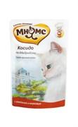 """Пауч МНЯМС для взрослых кошек с говядиной и морковью """"Косидо по-мадридски"""""""