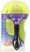 FURminator для кошек больших короткошерстных пород Short Hair Large Cat 7 см