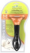 FURminator для собак средних длинношерстных пород Long Hair Medium Dog 7 см
