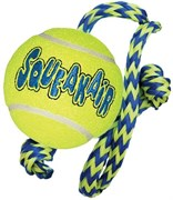 """Игрушка для собак KONG AIR """"Теннисный мяч"""" с канатом"""