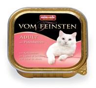 Консервы ANIMONDA Vom Feinsten Adult для взрослых кошек с сердцем индейки