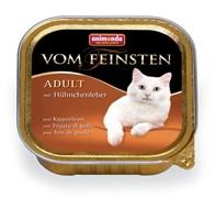 Консервы ANIMONDA Vom Feinsten Adult для взрослых кошек с куриной печенью