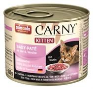 Консервы для котят Animonda CARNY Kitten Baby-Pate паштет