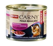 Консервы ANIMONDA CARNY Adult для взрослых кошек коктейль из разных сортов мяса