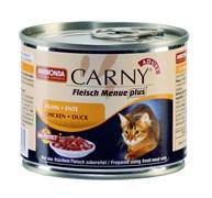 Консервы ANIMONDA CARNY Adult для взрослых кошек с курицей и уткой