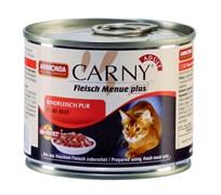 Консервы ANIMONDA CARNY Adult для взрослых кошек с отборной говядиной