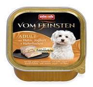 Консервы ANIMONDA Vom Feinsten Adult для собак с курицей, йогуртом и овсяными хлопьями
