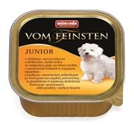 Консервы ANIMONDA Vom Feinsten Junior для щенков с мясом домашней птицы и сердцем индейки