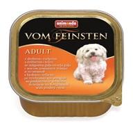 Консервы ANIMONDA Vom Feinsten Adult для собак с мясом домашней птицы и телятиной