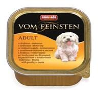 Консервы ANIMONDA Vom Feinsten Adult для собак с мясом домашней птицы и пастой
