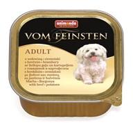 Консервы ANIMONDA Vom Feinsten Adult для собак с говядиной и картошкой