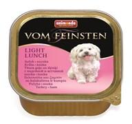 Консервы ANIMONDA Vom Feinsten Light Lunch для собак – облегченное меню с индейкой и ветчиной