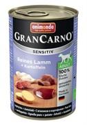 Консервы ANIMONDA GranCarno Sensitiv для чувствительных собак c ягненком и картофелем