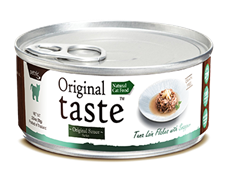 Консервы PETTRIC Original Taste для взрослых кошек филе тунца с белым окунем (люцианом) в соусе