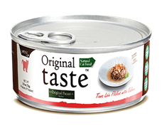 Консервы PETTRIC Original Taste для взрослых кошек филе тунца с диким лососем в соусе