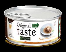 Консервы PETTRIC Original Taste для взрослых кошек филе тунца с курицей в соусе