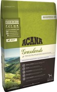Беззерновой сухой корм ACANA Grasslands Dog для собак всех пород и возрастов с янгенком и уткой