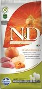 Беззерновой cухой корм FARMINA ND для взрослых собак средних и крупных пород кабан с яблоком и тыквой