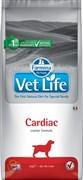 Корм Farmina Vet Life CARDIAC для собак диета при сердечно-сосудистых заболеваниях