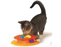 Игрушка Petstages для кошек Трек KITTY'S CHOICE с 4 сменными мячиками